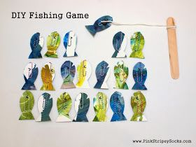 Make Easy DIY Fishing Game