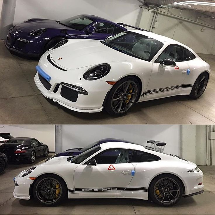 Canada's first 911 R, car #358 /991, has landed at Pfaff Porsche in my hometown of Toronto! This White example is the first one I've seen with no hood stripes and just the side stripes in Black with the Porsche script also in Black. Next to it, a stunning UV RS. What is your pick? Thanks for the heads up and shots of this car John! : @zerosixtwofour | Follow @club911r for the latest on the newest Porsche 911 R's. Club911R is the first and most complete registry of Porsche 911 R's. If you…