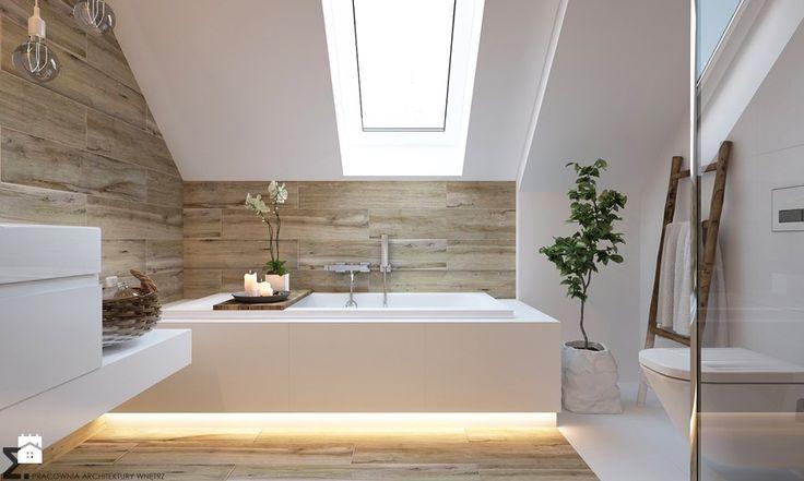 Łazienka, styl skandynawski - zdjęcie od ELEMENTY - Pracownia Architektury Wnętrz