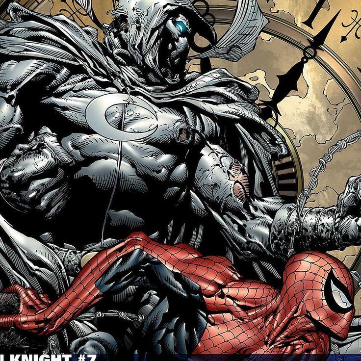 Moon Knight and Spider Man....Some good stuff....#geeky #comicbooks #dccomics #marvelcomics #imagecomics #batgirl #batwoman #batman  # catwoman #superman #spiderwoman #punisher #spiderman #avengers #hulk #joker #harlyquinn #robin #deadpool #deathstroke #comics #wonderwoman #games #manga #anime #justiceleague #harryo_official#geeky #comicbooks #dccomics #marvelcomics #imagecomics #batgirl #batwoman #batman  # catwoman #superman #spiderwoman #punisher #spiderman #avengers #hulk #joker…