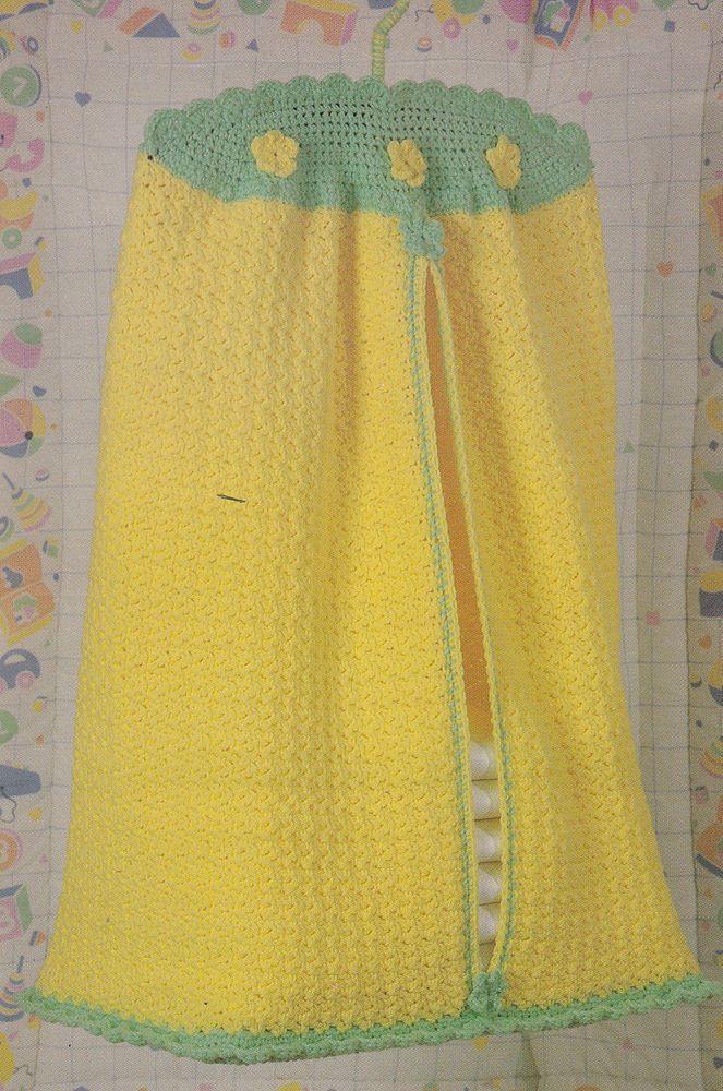 Crochet Pattern ~ Baby DIAPER KEEPER Stacker Holder ~ Instructions