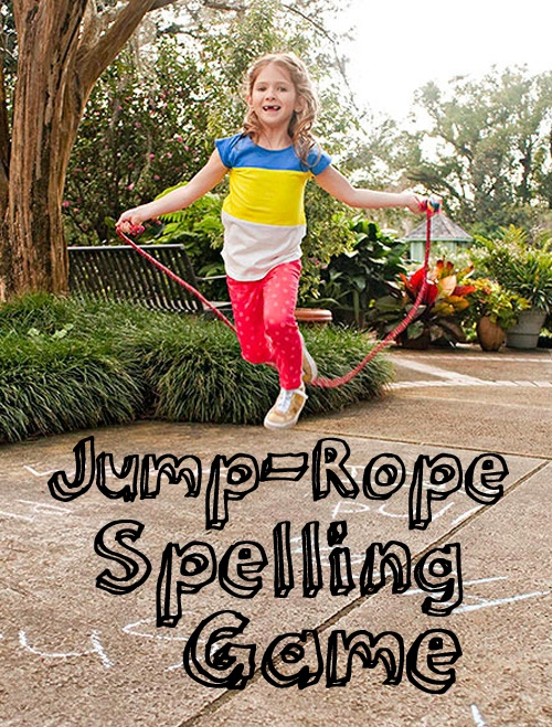 A JumpRope Spelling Game Teaching, Physicalfitness and