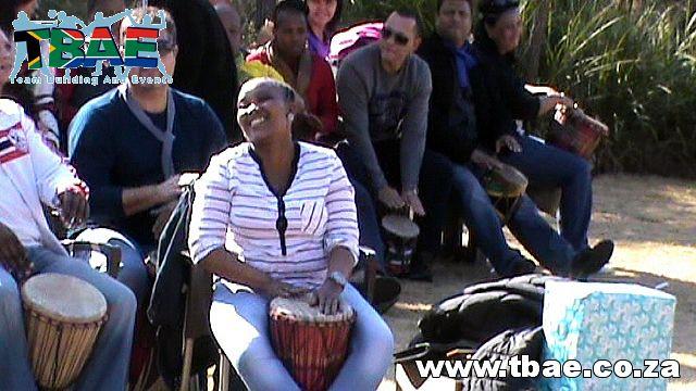 Team Building Gauteng #FNB #Drumming #TeamBuilding