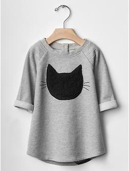 "Black cat dress - for my ""kitty"" lover"