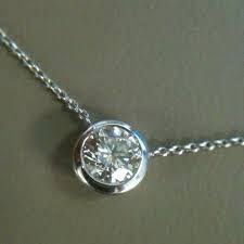 diamond pendant necklace - simple enough to add a touch of maturity and class.