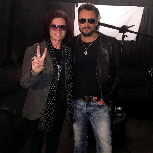 Yours truly & brother Eric Church in Denver, Colorado at the Pepsi Center ~ Rockin' Country