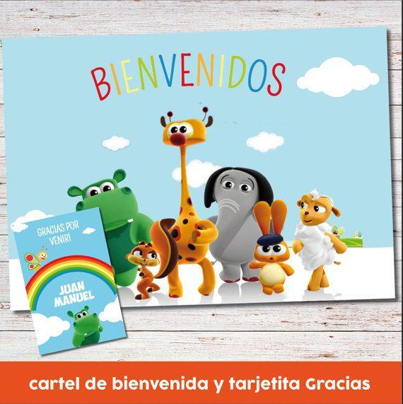 Baby Tv Party Printables. Baby TV Birthday por CumpleKits en Etsy