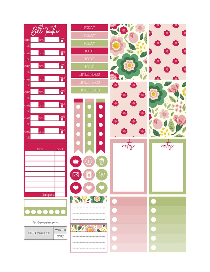 Best Planner Journal And Stickers Images On