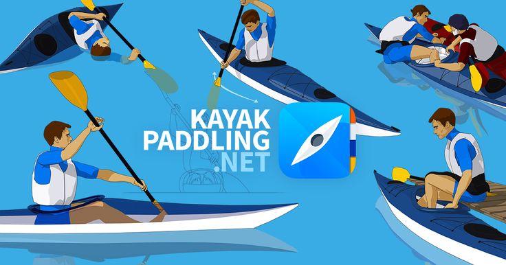 Aquí puede encontrar prácticos tutoriales animados sobre remar en kayak de mar. Vamos a empezar desde el principio, aprender las más esenciales maniobras de paleo y además echaremos un vistazo a la seguridad y técnicas de rescate.