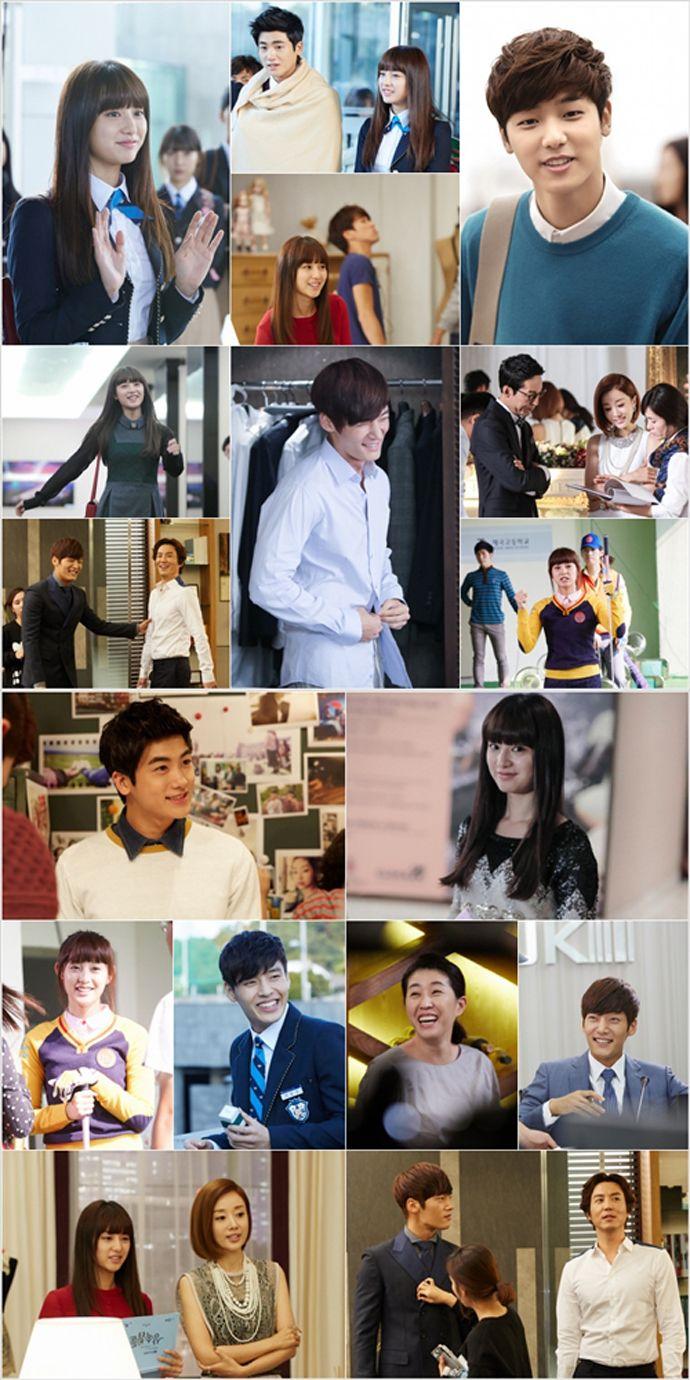BTS Heirs -- Choi Jin Hyuk, Kim Ji Won, Kang Min Hyu