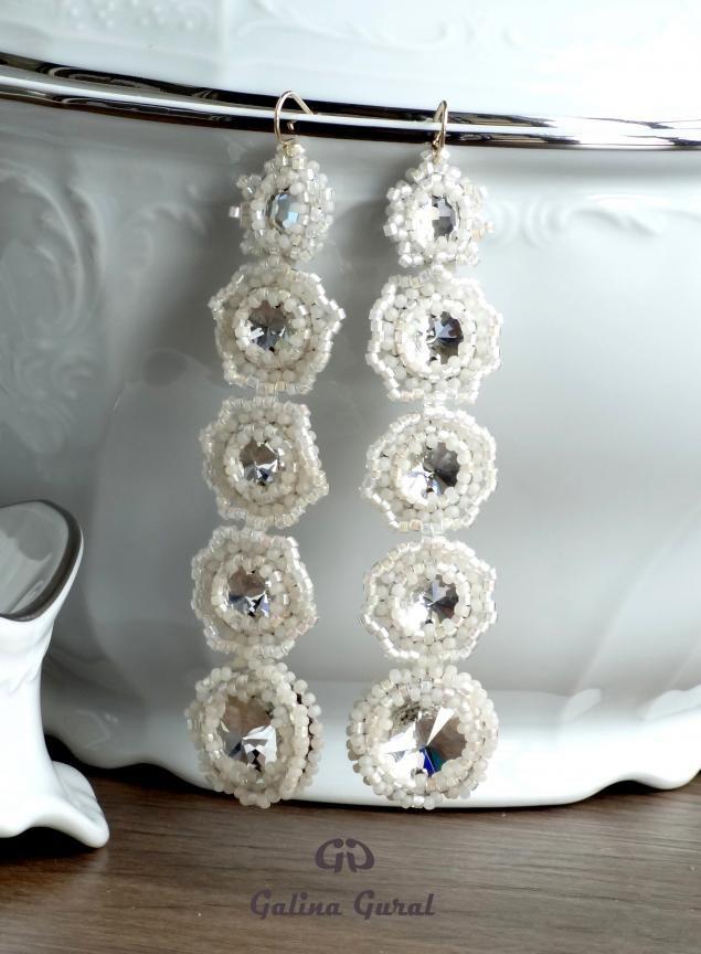 свадебные серьги своими руками - Поиск в Google