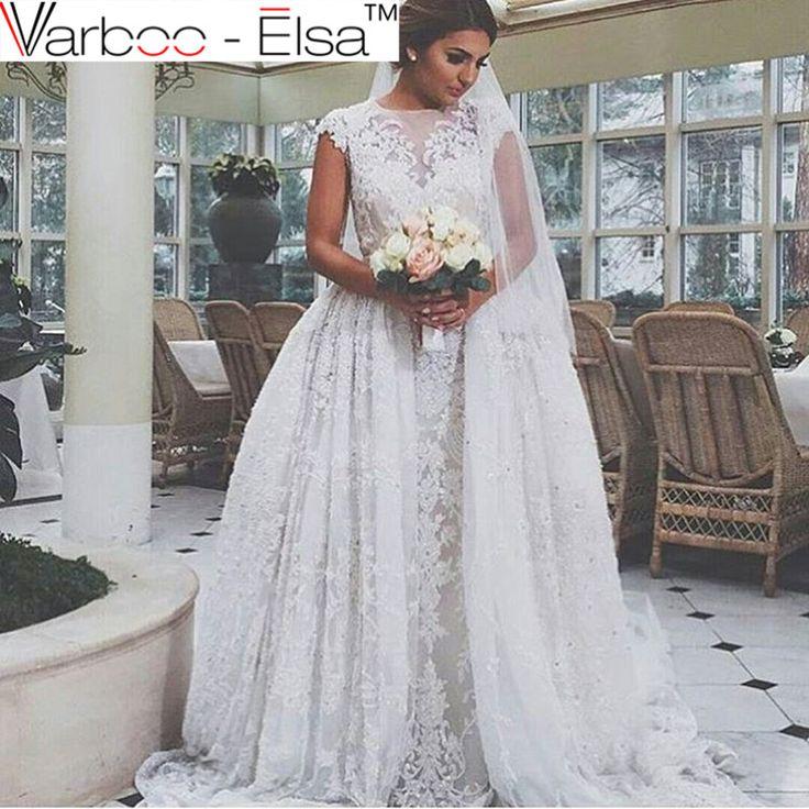 Cool https aliexpress store product robe mariage custom made sheath white wedding dress plus size lace appliques arabic bridal dresses