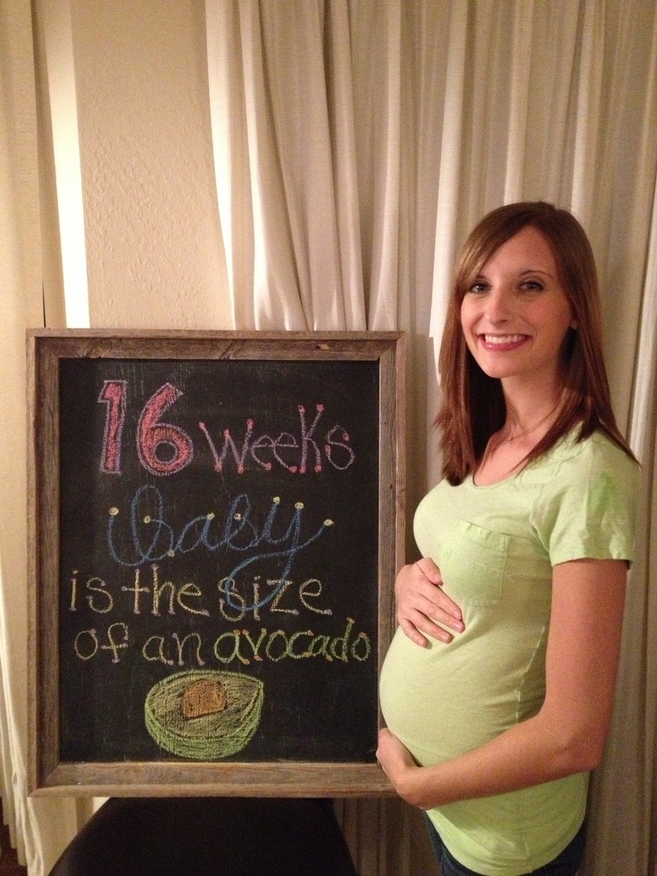 16 week bump :)