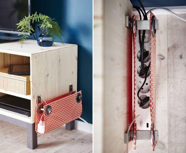7 ideias para organizar os fios elétricos no home office, Cable