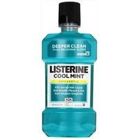 Cool Mint Listerine Antiseptic has been shown to help prevent and reduce supragingival plaque accumu