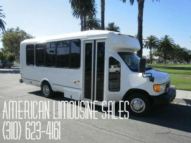 2006 White Ford E450 24 Passenger Newly Converted Party bus for sale #2495  Visit us at our website: Americanlimousinesales.com
