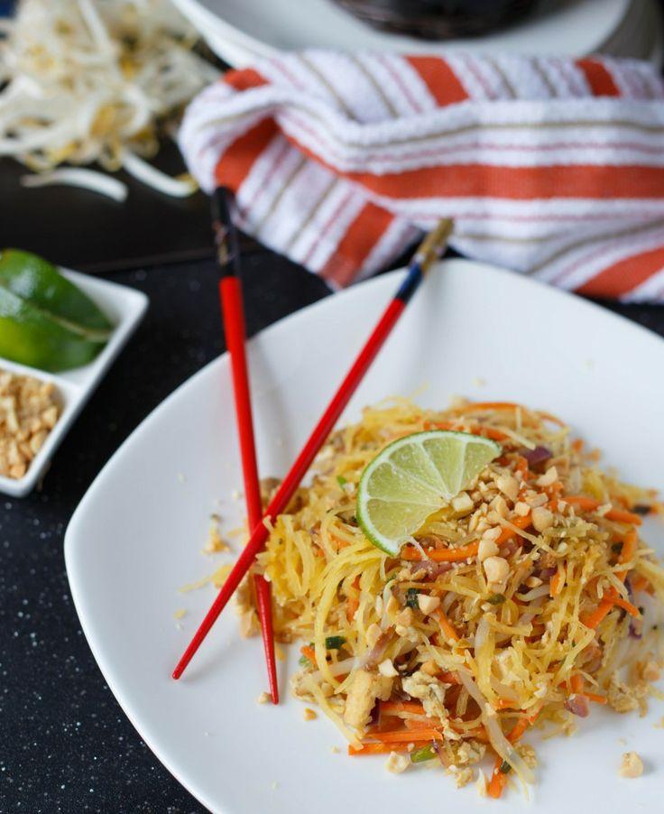 Spaghetti Squash Pad Thai - brilliant!