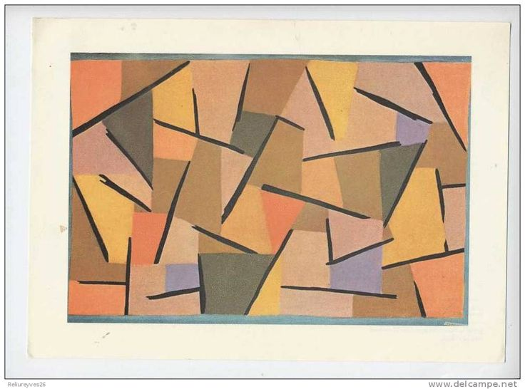 Paul Klee Lutte Harmonisée