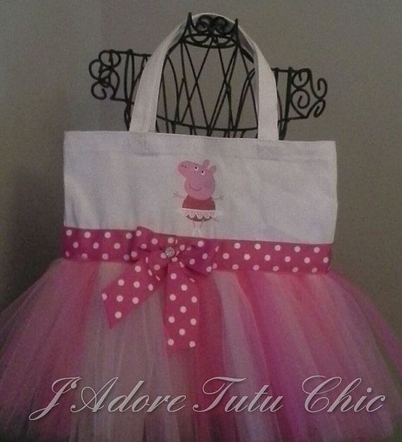Check out this item in my Etsy shop https://www.etsy.com/listing/214612846/peppa-pig-tutu-tote-bag