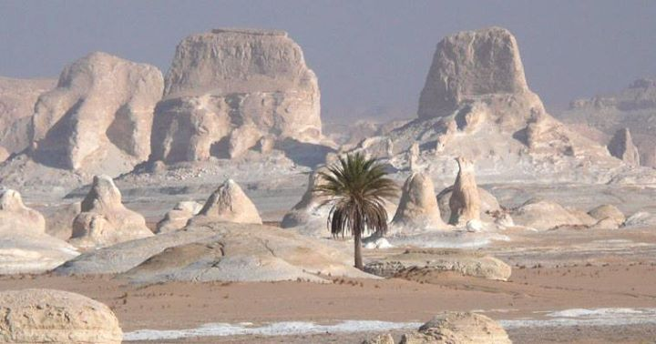 The White Desert, Farafra, Egypt