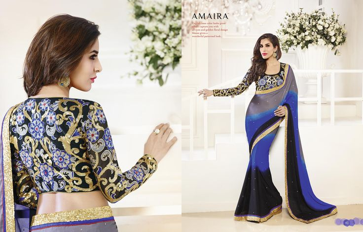 Georgette Designer Saree  Range:- INR 4595/- Shipping (India) :- Free Shipping All Over India  Shipping (Overseas) :- Worldwide Shipping Available  For Orders:- visit www.baawli.com or contact +91 9870725209  Added Facility:- Next Day delivery in Mumbai and Ahmedabad  #saree #sari #india #indiansaree #indianfashion #womenfashion #fashion #ethnic #ethnicwear #ladieswear #indianwear #indianethnicwear #shopping #onlineshopping #worldwideshipping #freeshippingforindia #baawlifashions