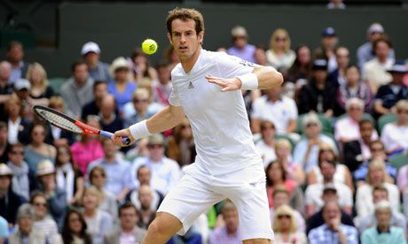 Congratulations to Britain's (Scotland's) Andy Murray (26) for winning Wimbledon! The first time a British man has won Wimbledon in 77 years!