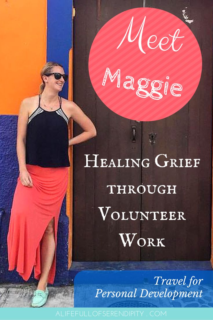 Travel to heal a broken heart // Healing grief through volunteer work - Meet Maggie who lost two of her friends in tragic accidents. She decided to travel to heal a broken heart by volunteering in Peru. Click on the Pin to read more.
