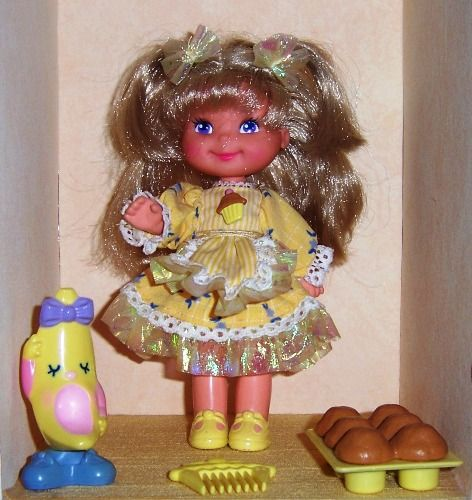 OMG the Banancy doll!!!  I lost the doll shortly after i got her but my barbies still enjoyed the banana scented muffins :)