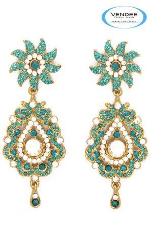 Indian Fashion Earrings Jewelry