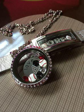 Locket necklace and locket bracelet  http://SouthHillDesigns.com/TammyTamayo