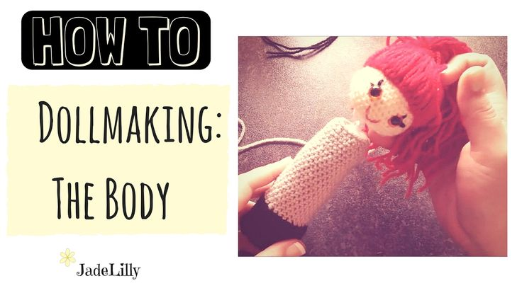 Lily Doll Crochet Tutorial - #2 : Body - Jade Lilly Crochet