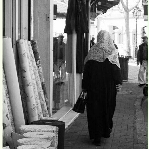 Komotini, Greece  Old Town, Wonderful Woman