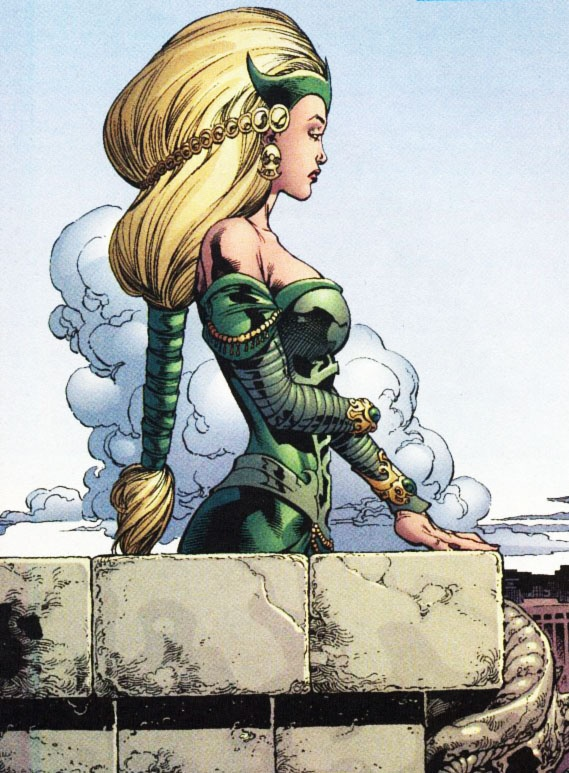 Amora the Enchantress . Oh my goodness i really want her in Thor 3