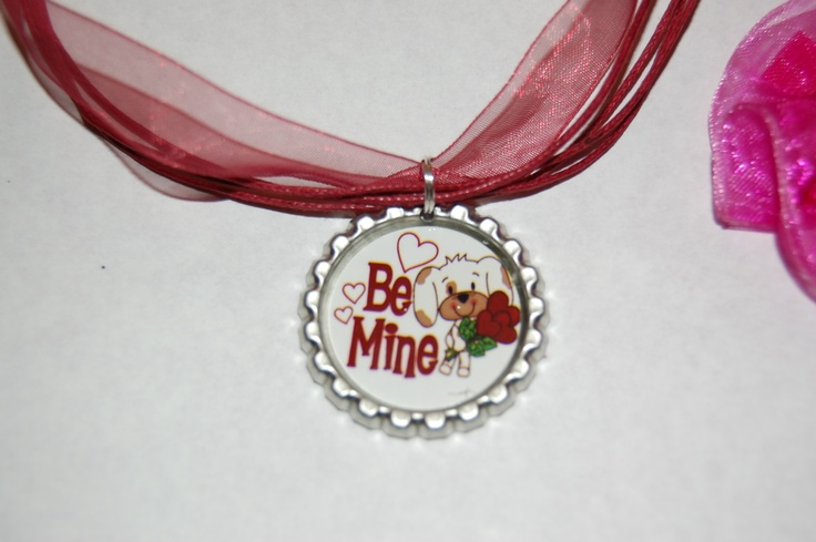 cute valentine necklace