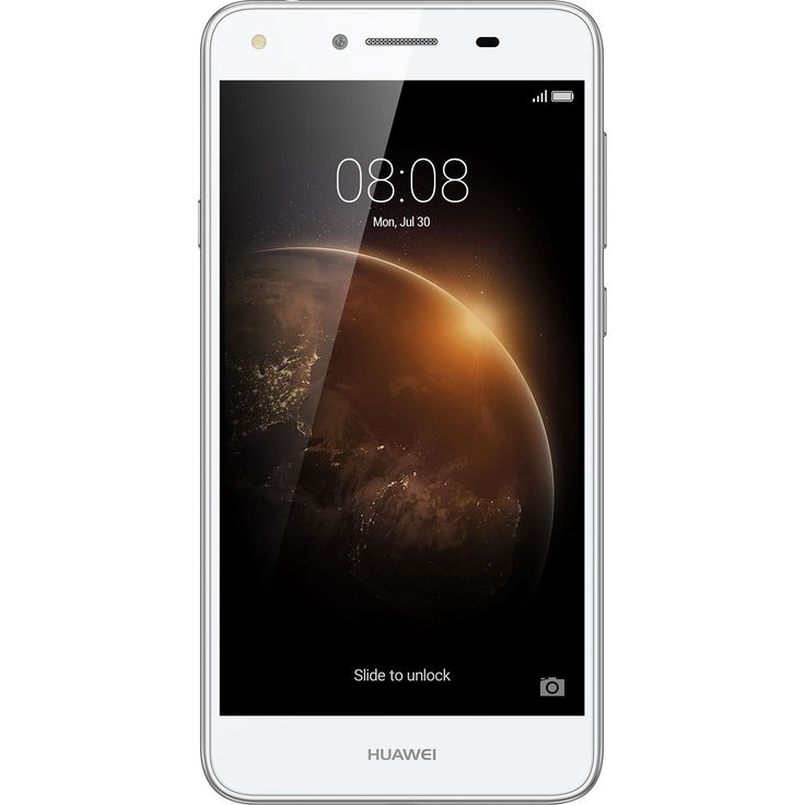 Huawei Y6II Compact Mobiltelefon, Kártyafüggetlen, Dual SIM, 16GB, LTE, Fehér
