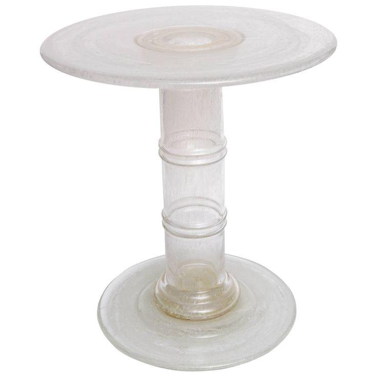 Venetian Glass End Table