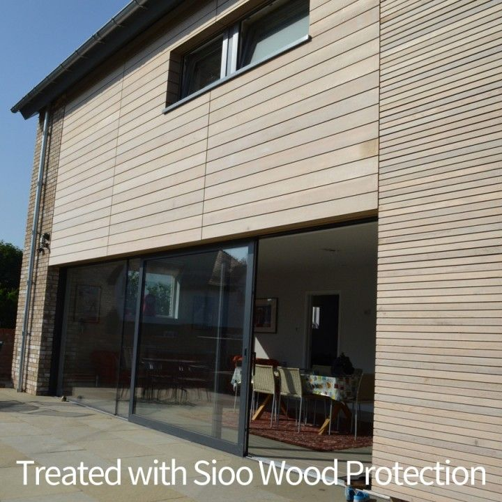 Wood Rainscreen Cladding : Best images about sioo wood protection on pinterest
