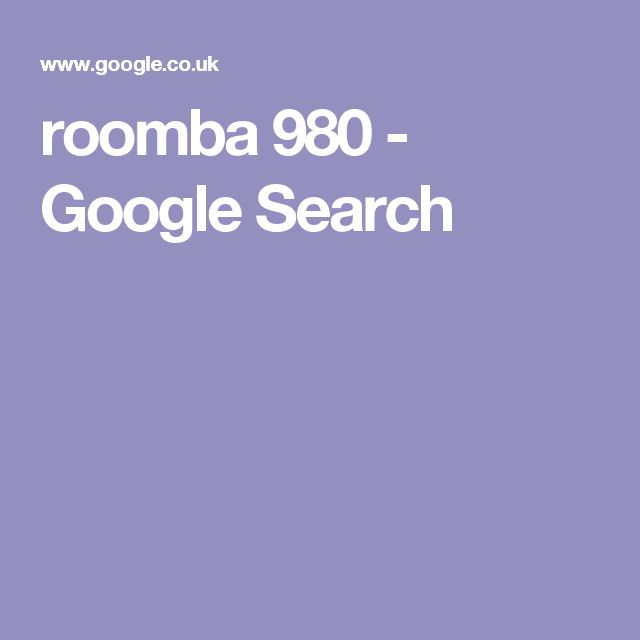 roomba 980 - Google Search