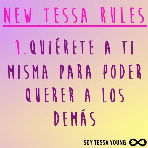 ¡Tessa RULES!