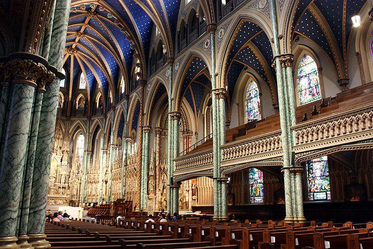 Notre Dame Cathedral Basilica, Ontario   Ontario Photos :: Notre-Dame Cathedral Basilica :: Ottawa. Notre-Dame ...