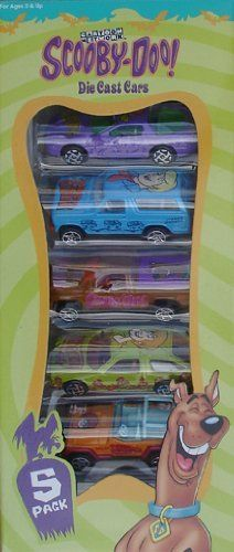 Scooby-Doo Die Cast Boxed Set Of (5) Cars From Racing Champions By ERTL . $24.95