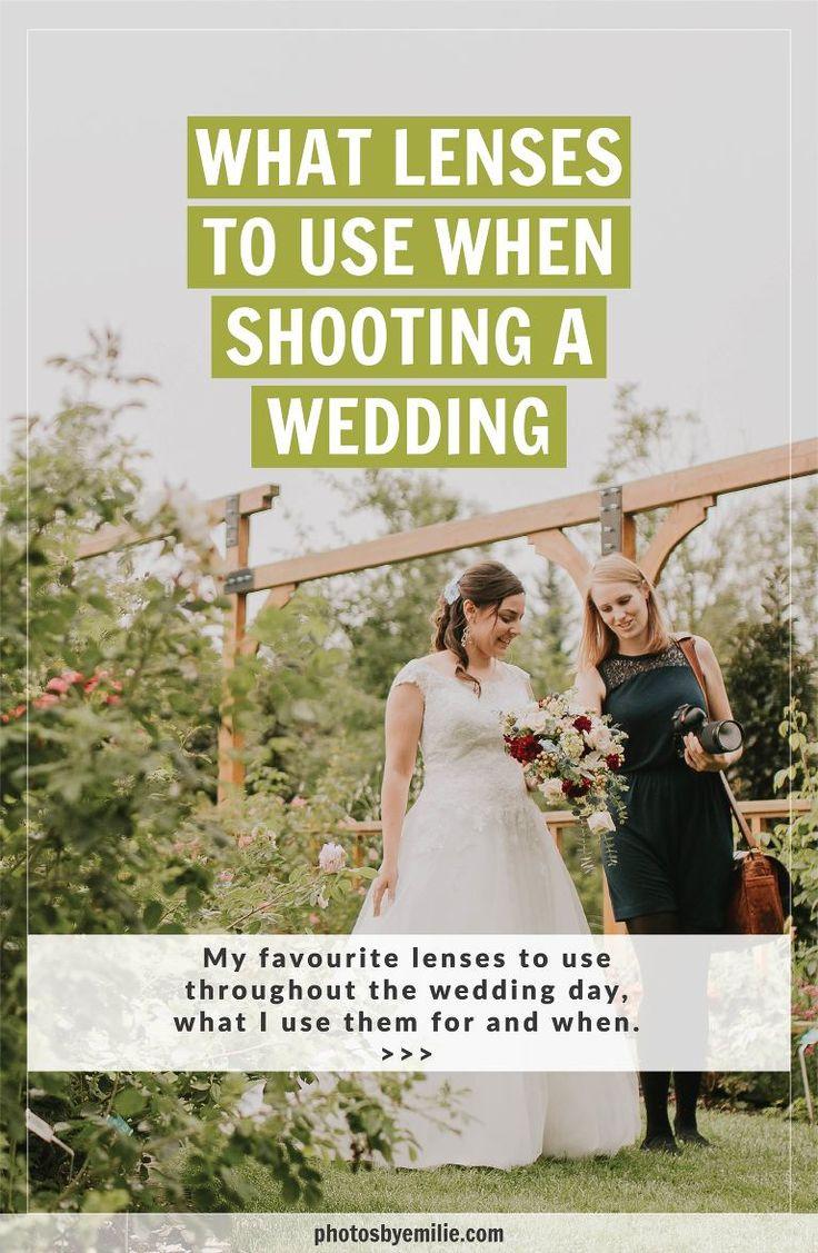 Quels objectifs utiliser lors d'un mariage? – Everything Blogging