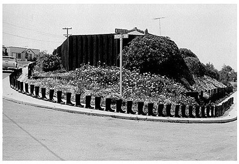 Eleanor Antin, 100 Boots Turn the Corner. (From the 100 Boots series,1971-1973)