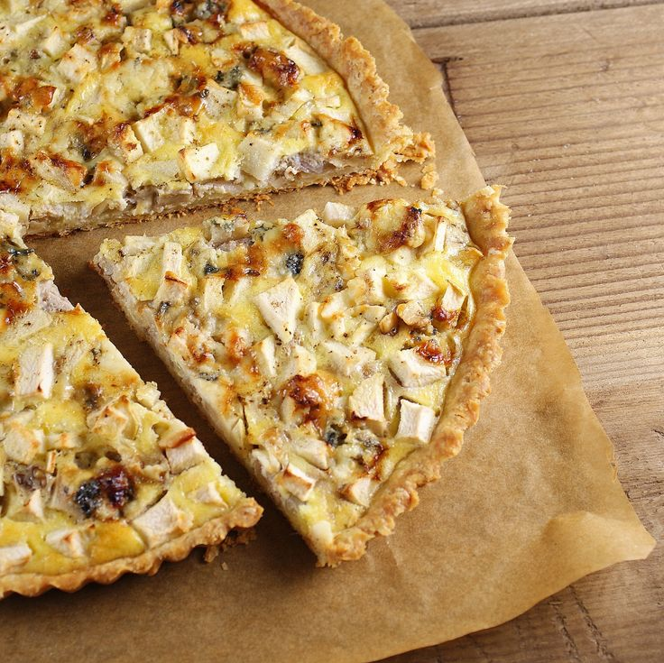 Point Reyes Original Blue Cheese, Apple & Walnut Quiche from @Patty Price / Patty's Food