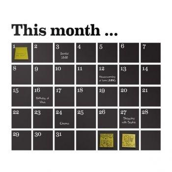 Ferm living Calendar wall sticker