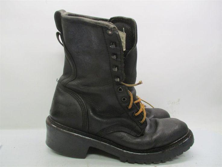 Golden Retriever Boots Men S Size 11 5 Work Hiking Hunting Black