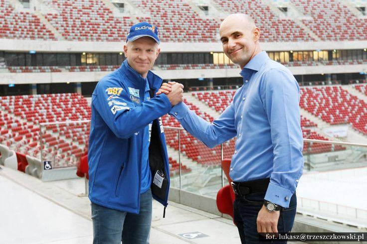 Konferencja prasowa przed FIM LOTTO Warsaw Speedway Grand Prix w Warszawie