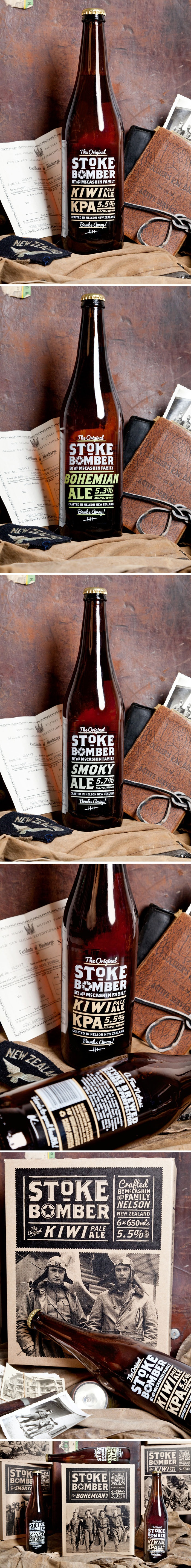 Stoke Beer designed by Supply, New Zealand.