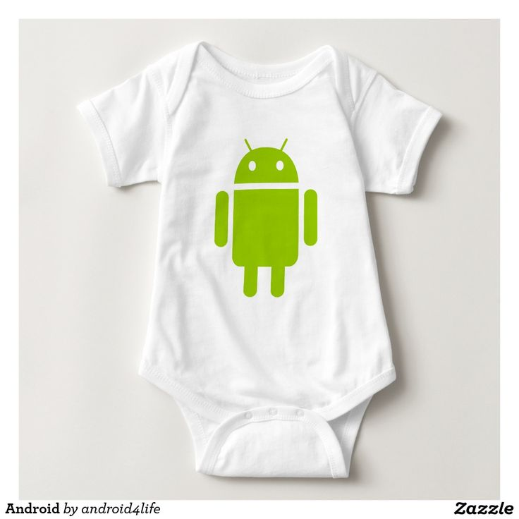 Android Infant Creeper. Regalos, Gifts. #camiseta #tshirt