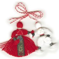 Baba Marta is celebrated on March 1st every year in Bulgaria. It's a celebration tribute the all the grandmothers (Baba's) of Bulgaria.